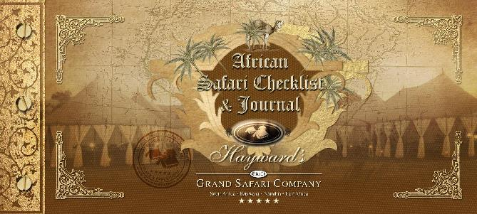 African Safari Checklist & Journal