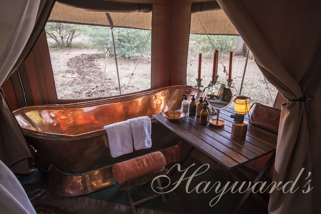safari copper bath Haywards Safaris