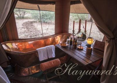 safari copper bath Haywards Safaris