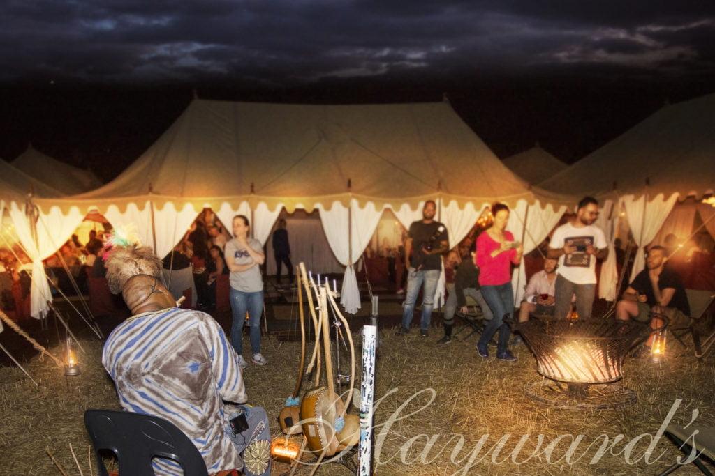 Tented Grand Safari events Johannesburg